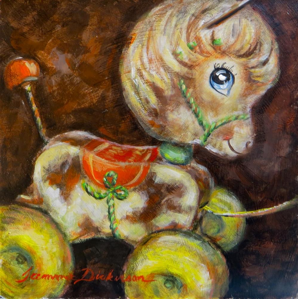 """Prancy Pony"" original fine art by Tammie Dickerson"