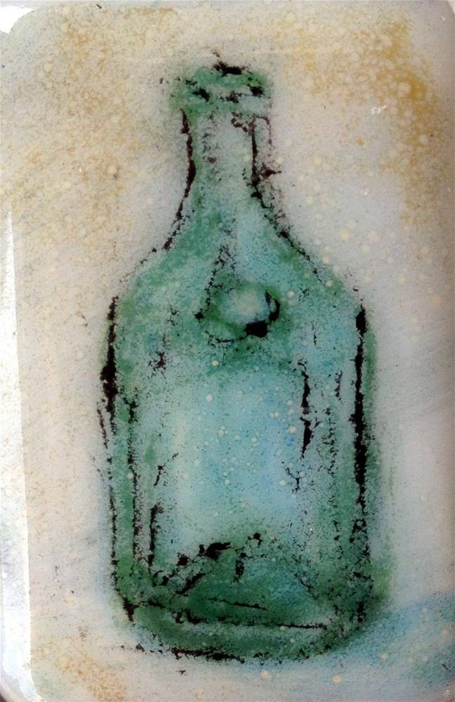 """Corning Bottle"" original fine art by Kristen Dukat"