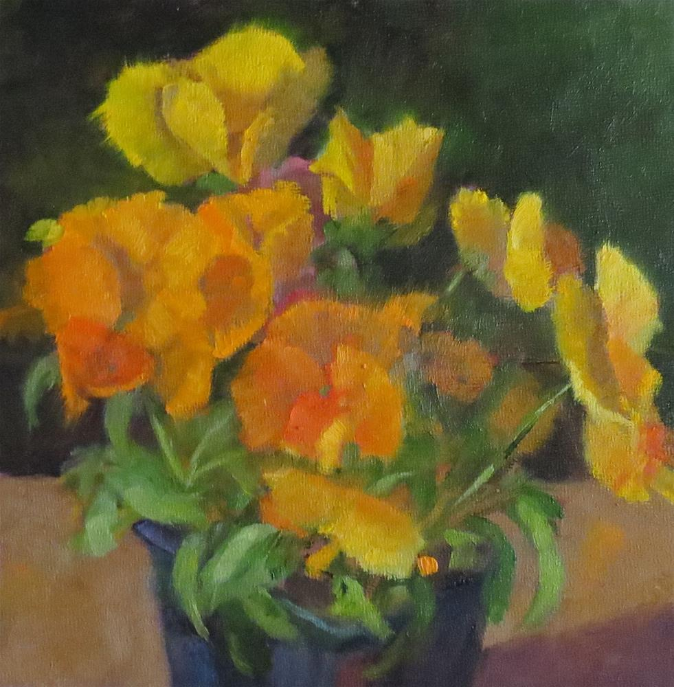 """""""Just Before Planting"""" original fine art by Pam Holnback"""