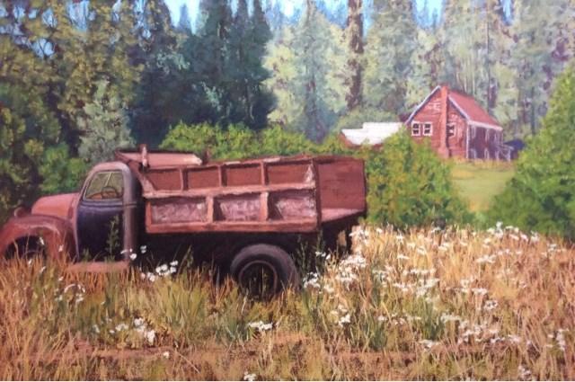 """""""OLD SOULS"""" original fine art by Marti Walker"""