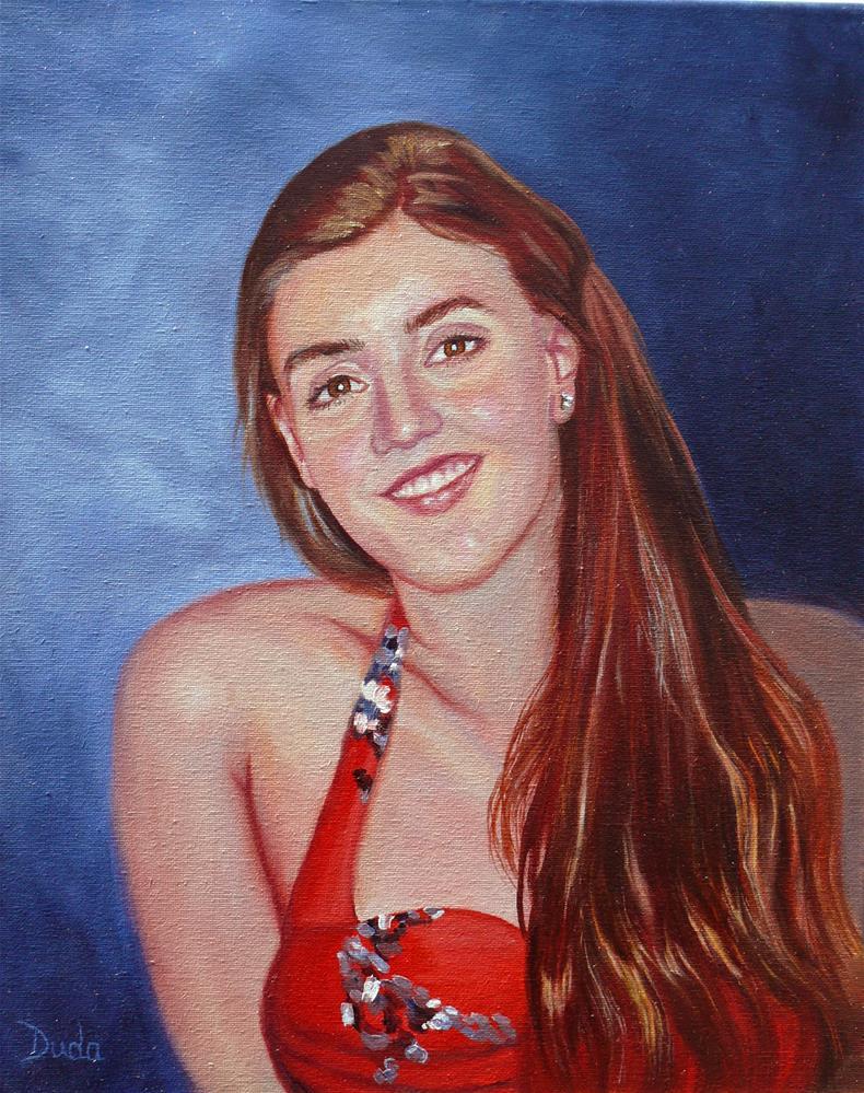 """""""Ashley"""" original fine art by Susan Duda"""