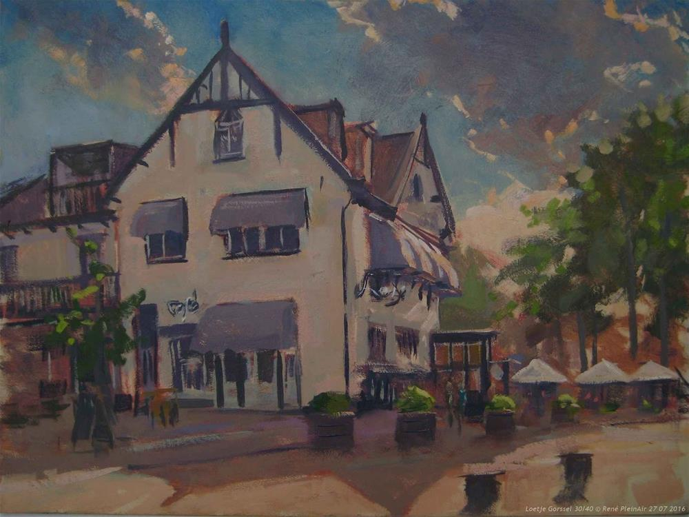 """Loetje Gorssel, The Netherlands."" original fine art by René PleinAir"
