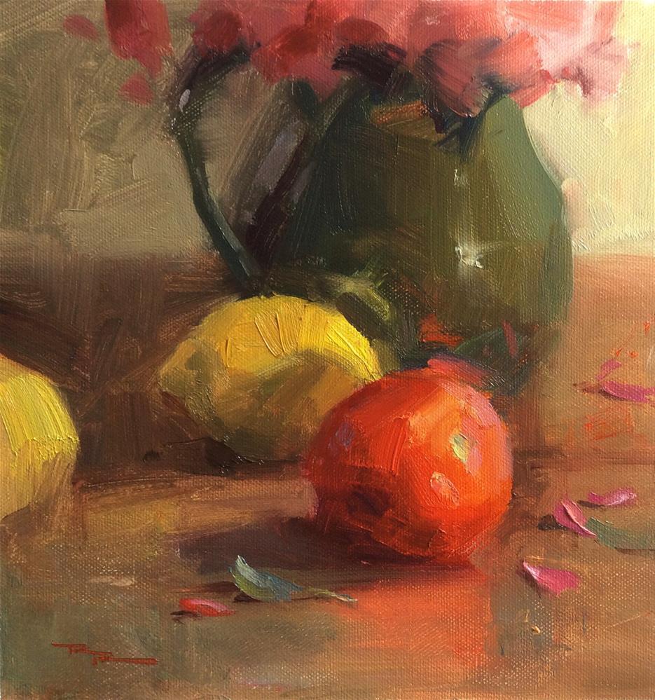 """Tuscan Still Life"" original fine art by Richard Robinson"