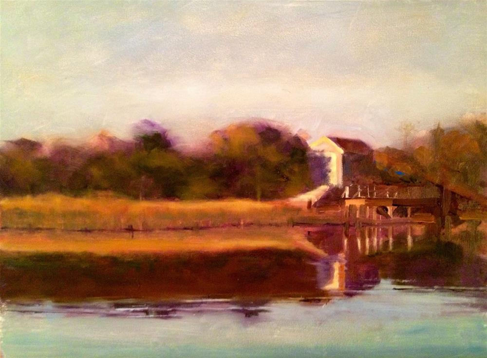 """""""Afternoon Sun, Nantucket"""" original fine art by Ann Feldman"""