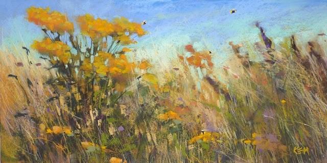"""Seven Steps to a Pastel Painting"" original fine art by Karen Margulis"
