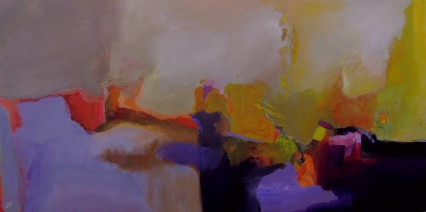 """Night and Day"" original fine art by ~ces~ Christine E. S. Code"