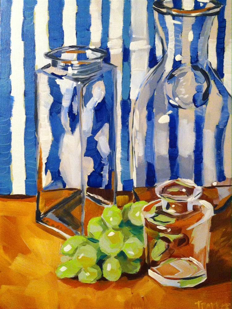 """Chameleon Glass"" original fine art by Teddi Parker"