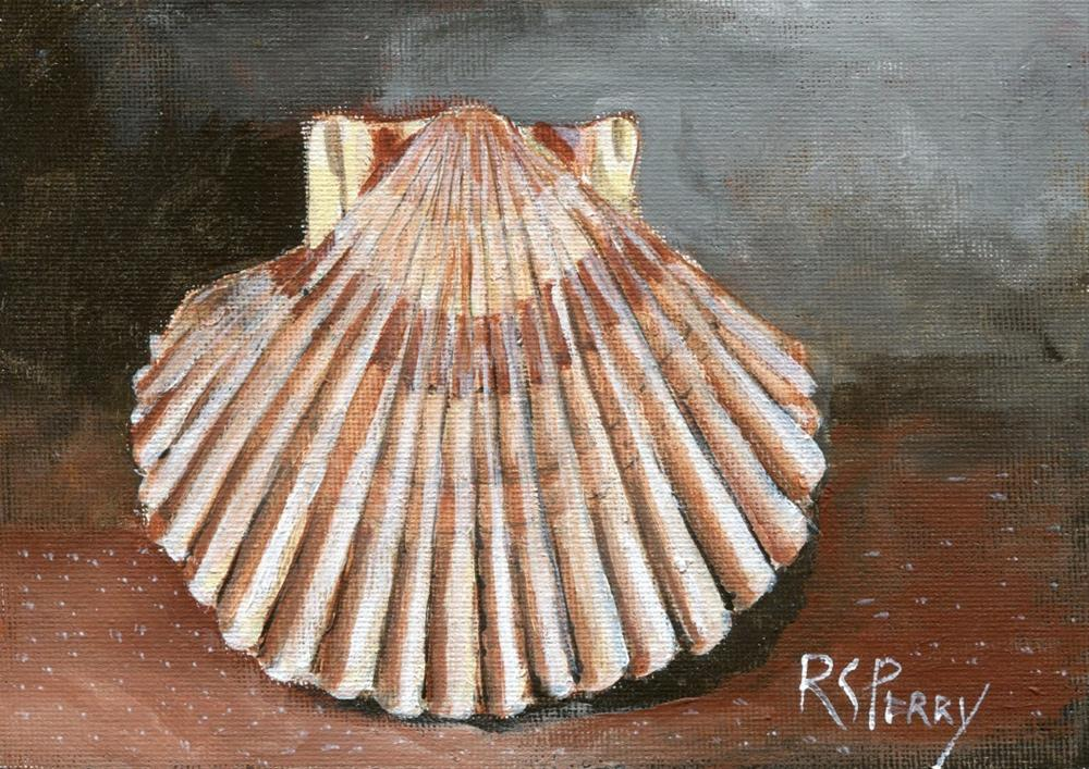 """Scallop "" original fine art by R. S. Perry"