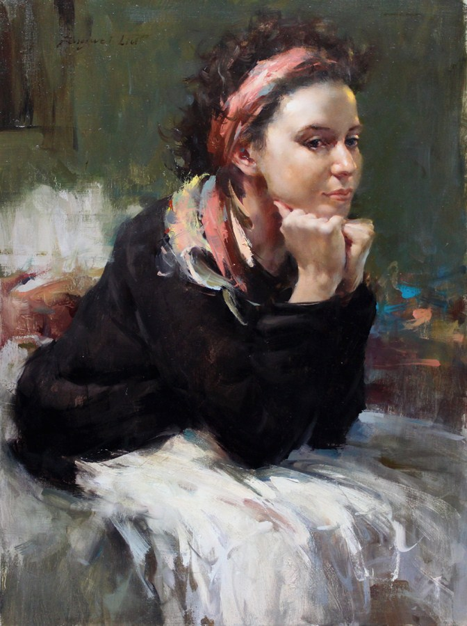 """   - Not for sell"" original fine art by Fongwei Liu"
