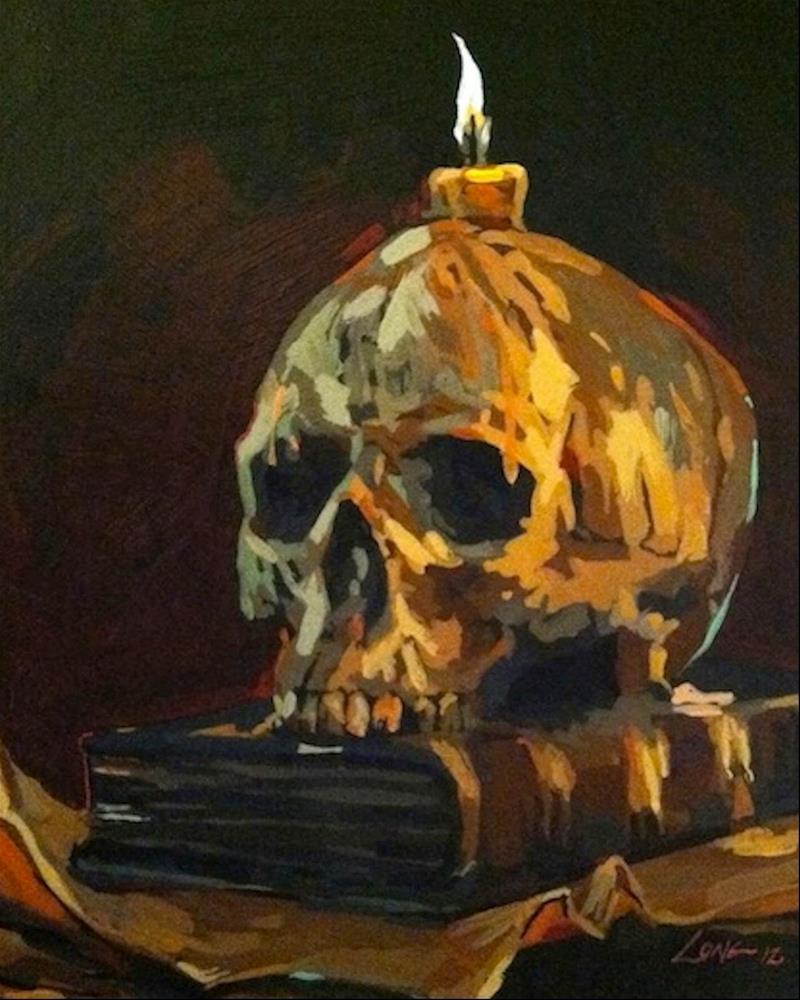 """Still Life"" original fine art by Chris Long"