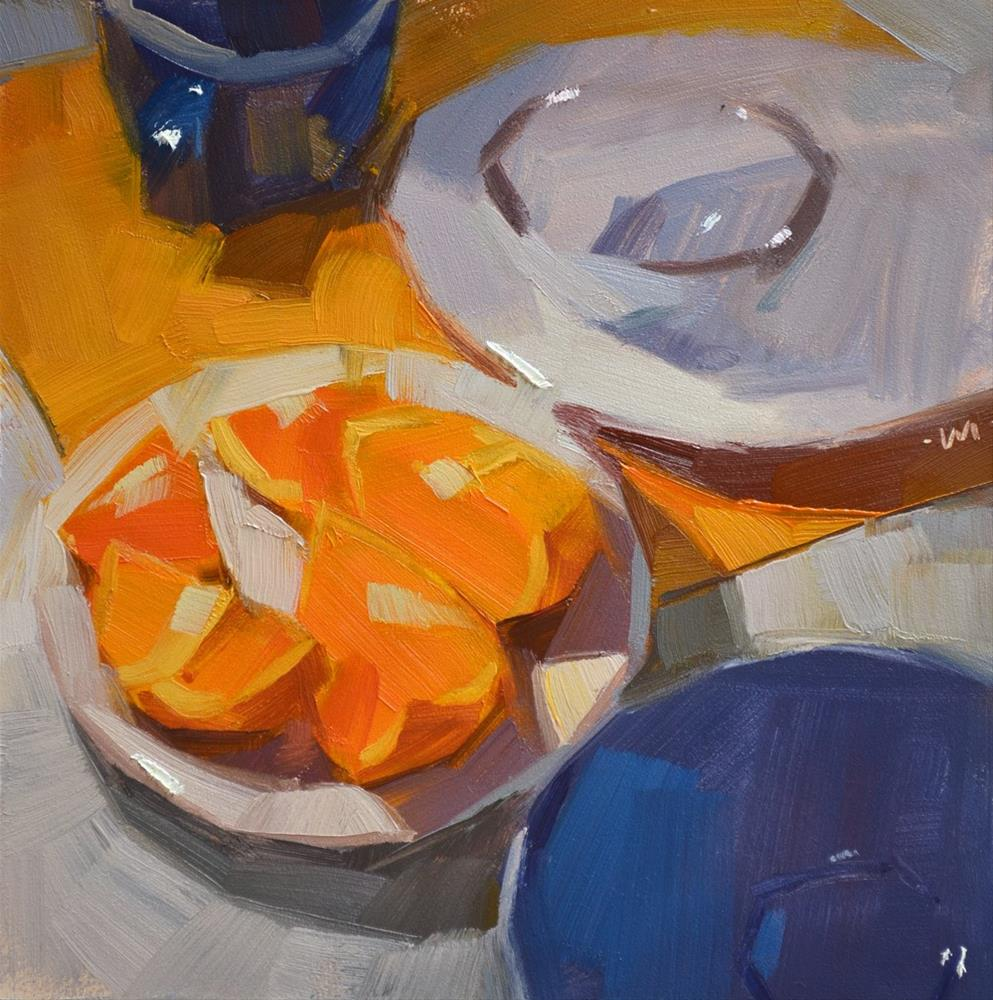 """A Nice Complement"" original fine art by Carol Marine"