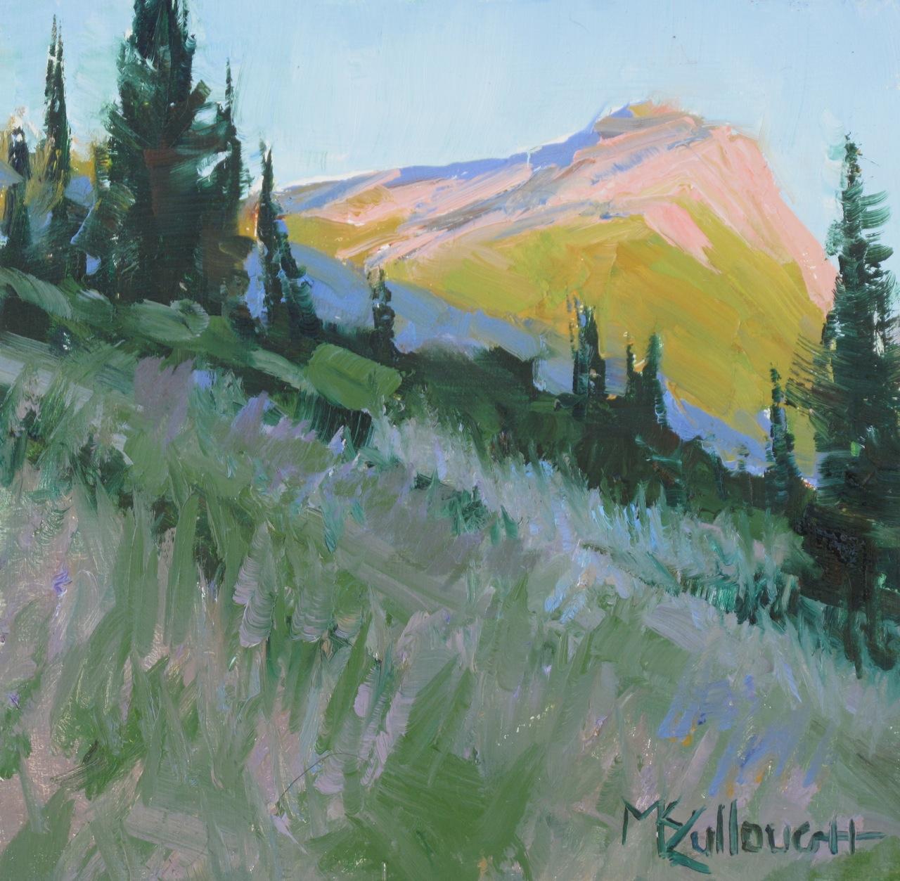 """""""Sunrise 2"""" original fine art by Susan McCullough"""