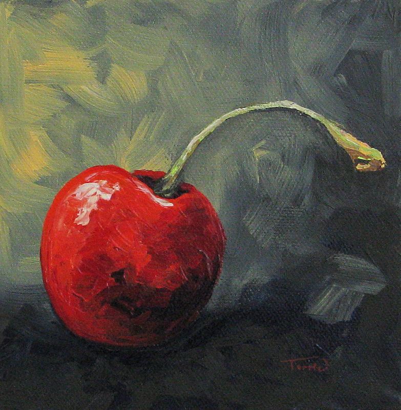 """""""The Lone Cherry"""" original fine art by Torrie Smiley"""