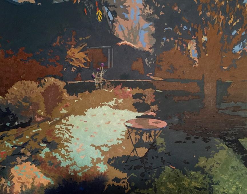 """Autumn 2015"" original fine art by Nancy Herman"