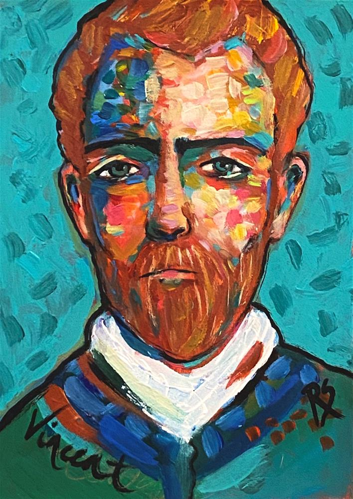"""In The Eyes of an Artist"" original fine art by Artcylucy Art by Roberta Schmidt"