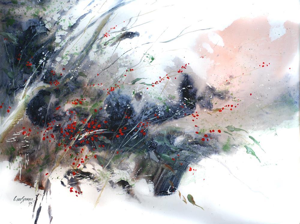 """""""Requiem"""" original fine art by Cornelis vanSpronsen"""