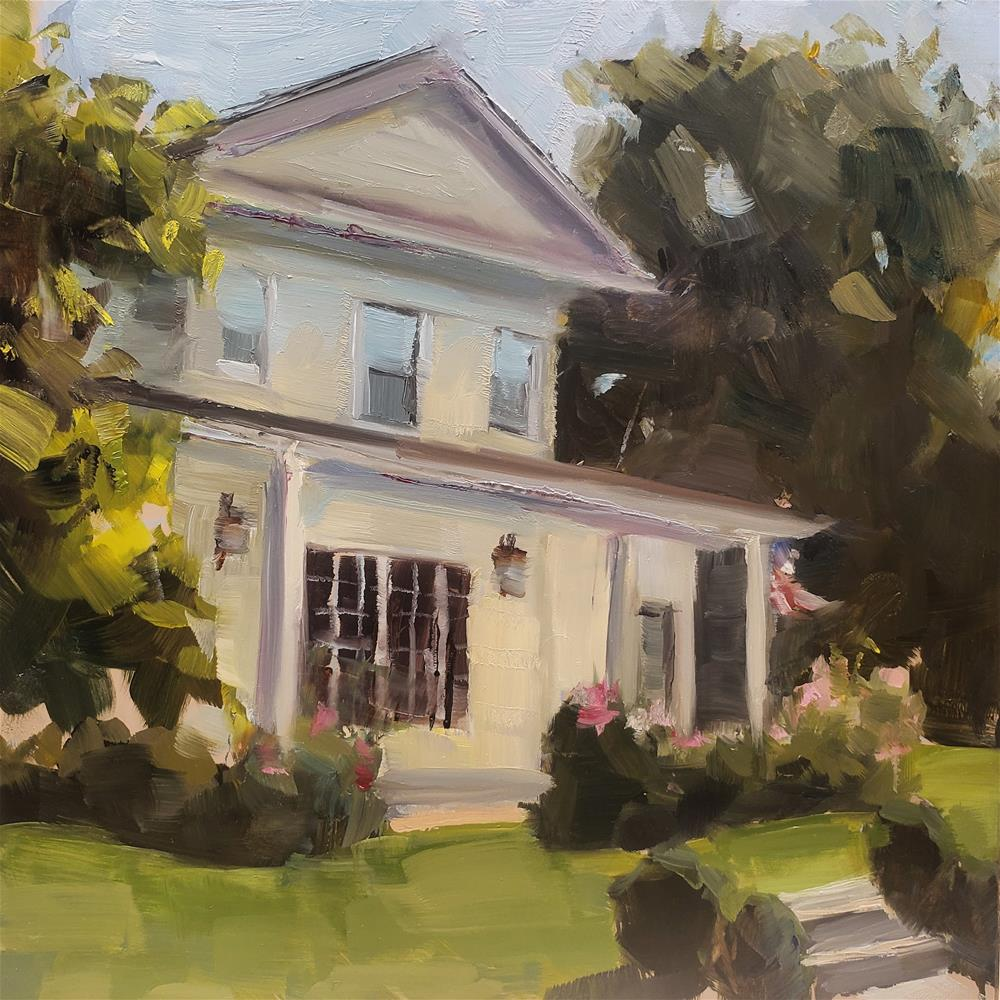 """Welcome Home "" original fine art by Barbie Smith"