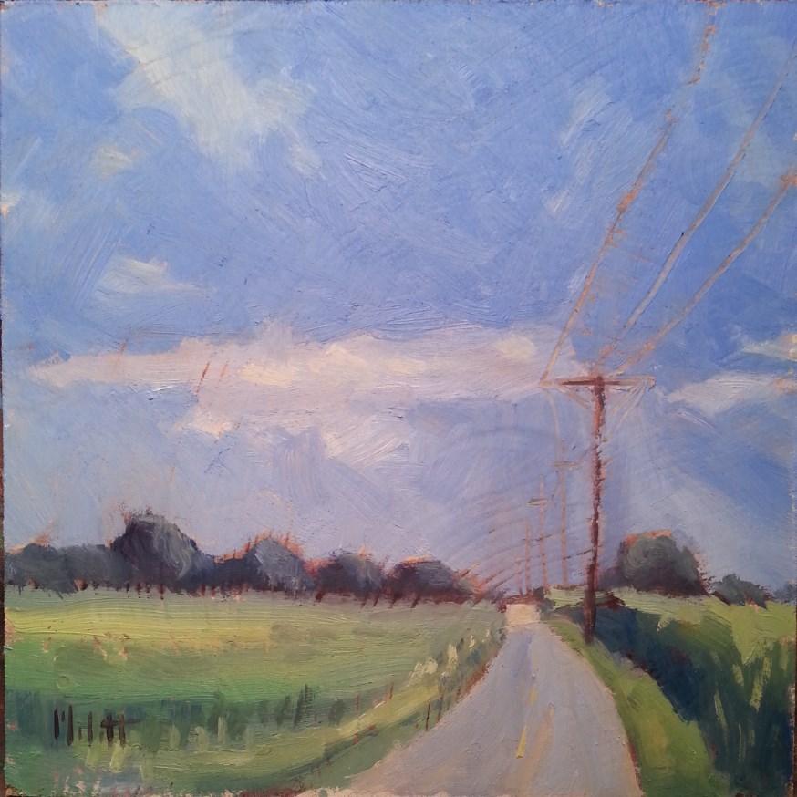 """Contemporary Impressionism Fields Transition original oil paintings"" original fine art by Heidi Malott"