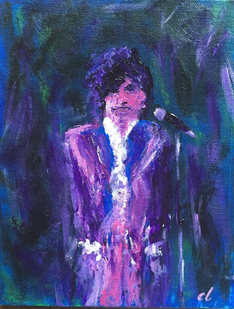 """Prince 4-21-2016"" original fine art by Cheree Apalona Lueck"