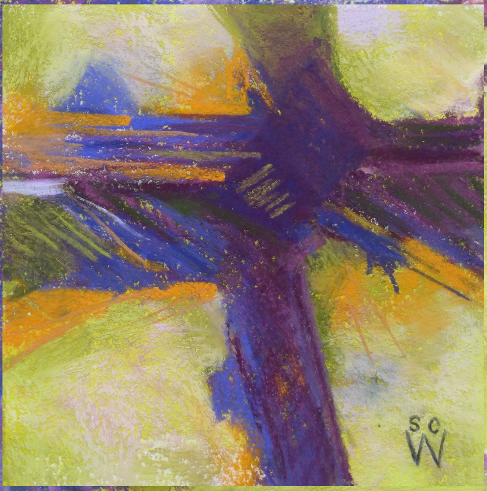 """""""Flying High"""" original fine art by Susan Woodward"""