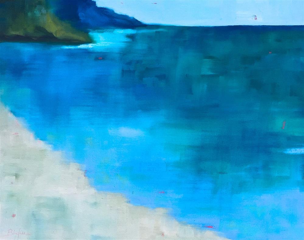 """""""The Cove"""" original fine art by Janet Bludau"""