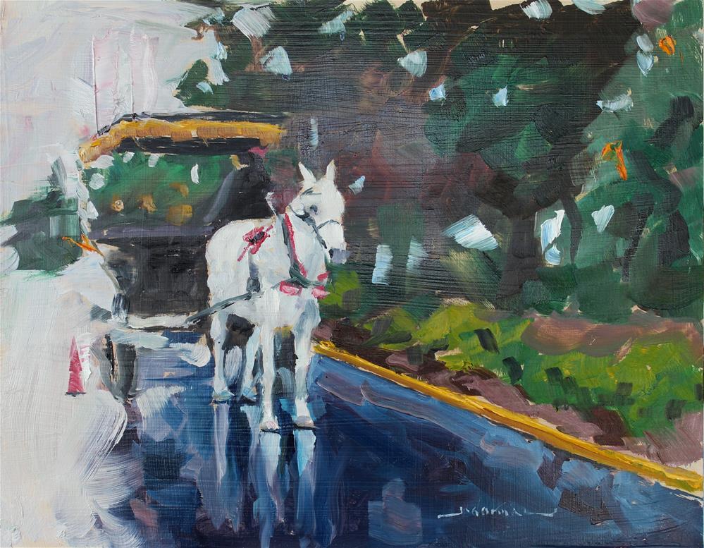 """Savannah Rain"" original fine art by James Gorman"
