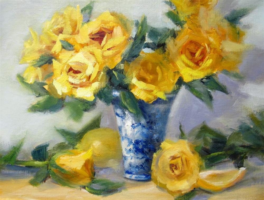 """""""Happiness!"""" original fine art by Pat Fiorello"""