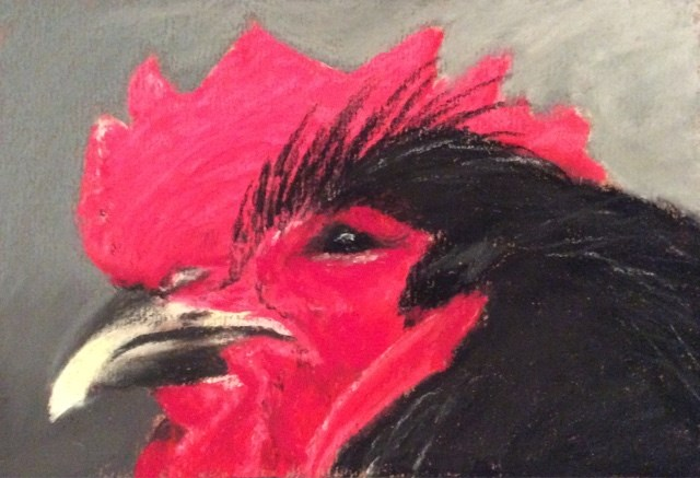 """WE ARE NOT AMUSED"" original fine art by Marti Walker"