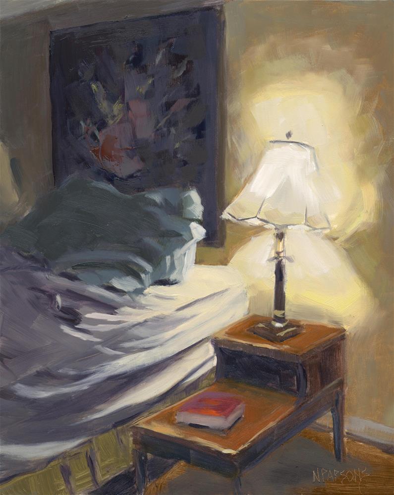 """My Side"" original fine art by Nancy Parsons"