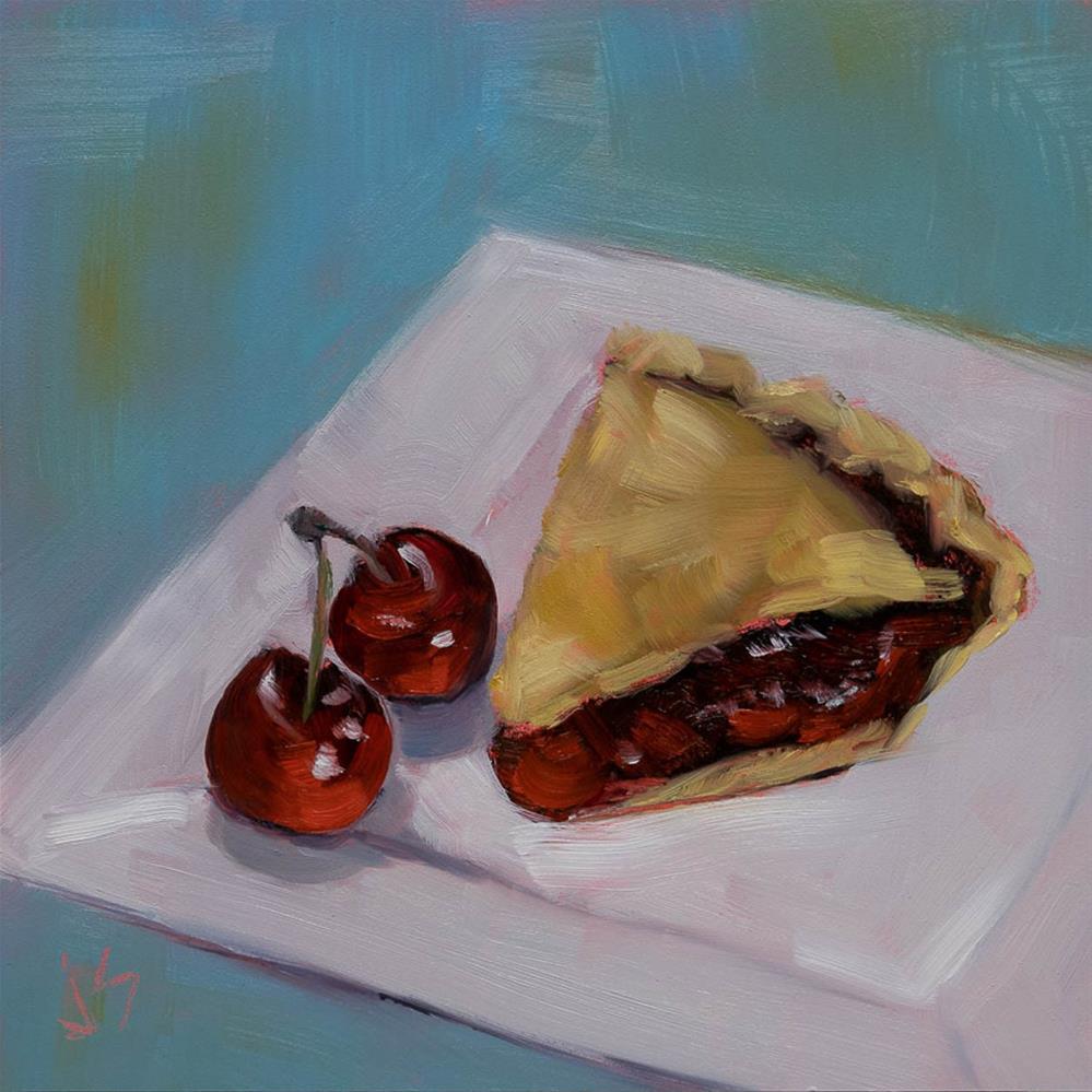 """""""Taste of Summer"""" original fine art by Johnna Schelling"""