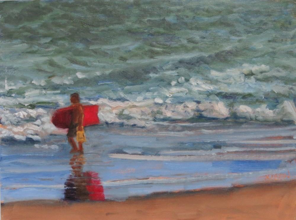 """To the Point"" original fine art by Richard Kiehn"