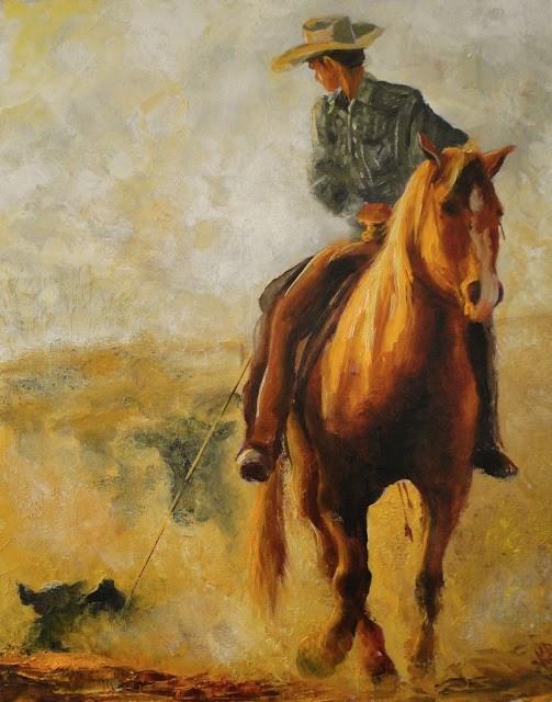 """""""Golden Light 2"""" original fine art by Karen Robinson"""