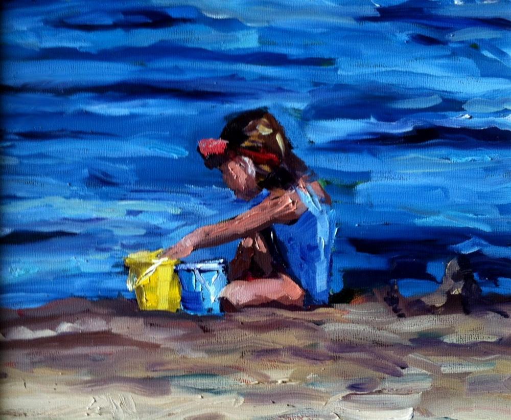 """""""Solo"""" original fine art by Kristen Dukat"""