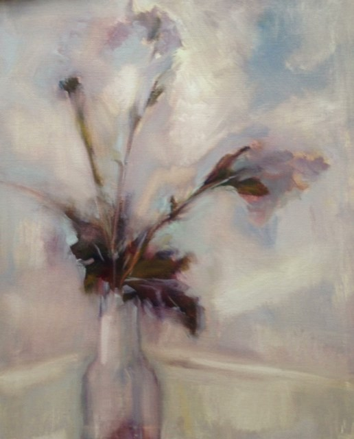 """Abstracted Spring"" original fine art by Ester Deen"