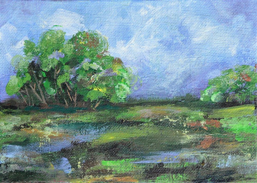"""Late in the Day"" original fine art by Jodi Workman"