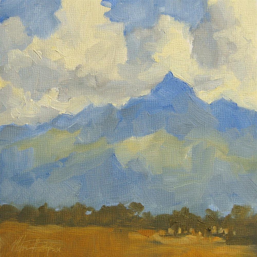 """Reaching for the Sky"" original fine art by Melanie Thompson"