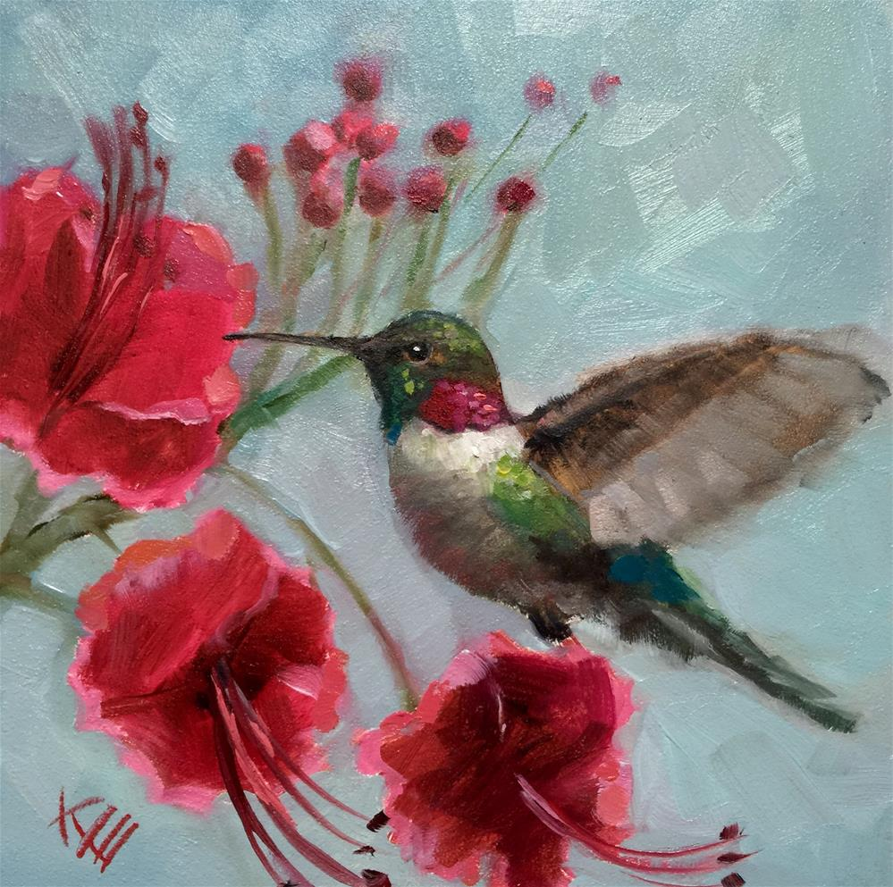"""Ruby Red "" original fine art by Krista Eaton"