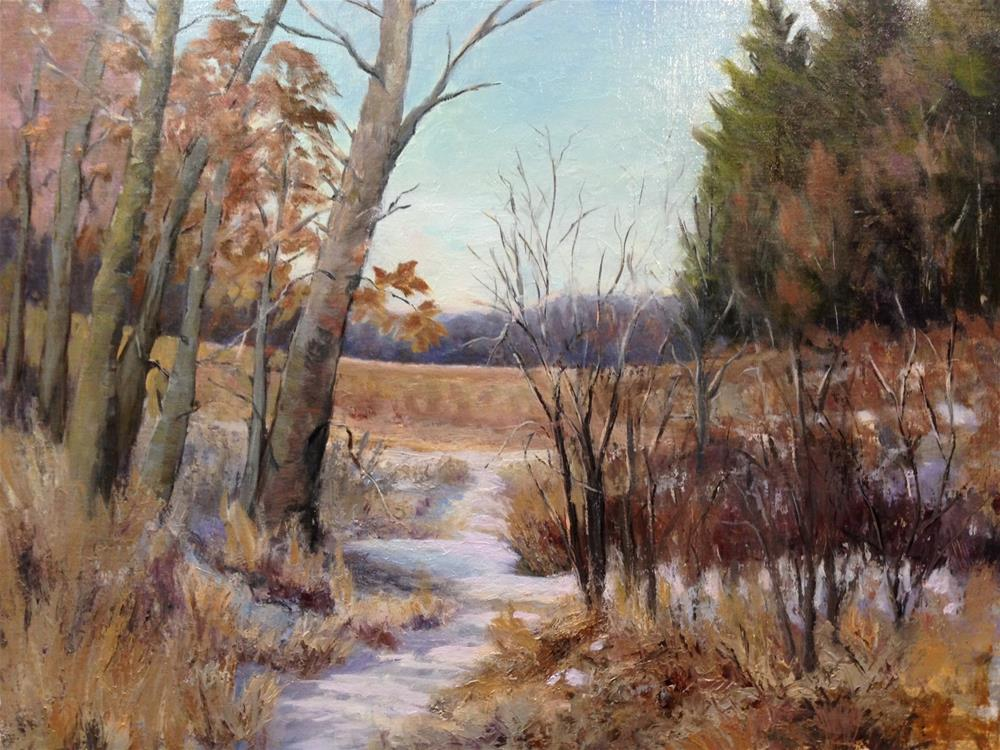 """Path to Lebanon Hills"" original fine art by Judith Anderson"