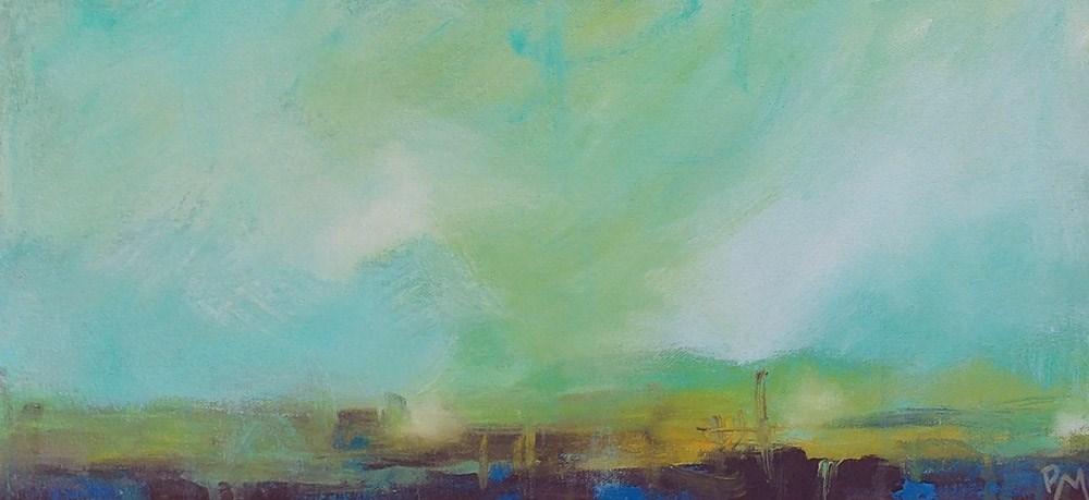 """In the Event of Change"" original fine art by Pamela Munger"
