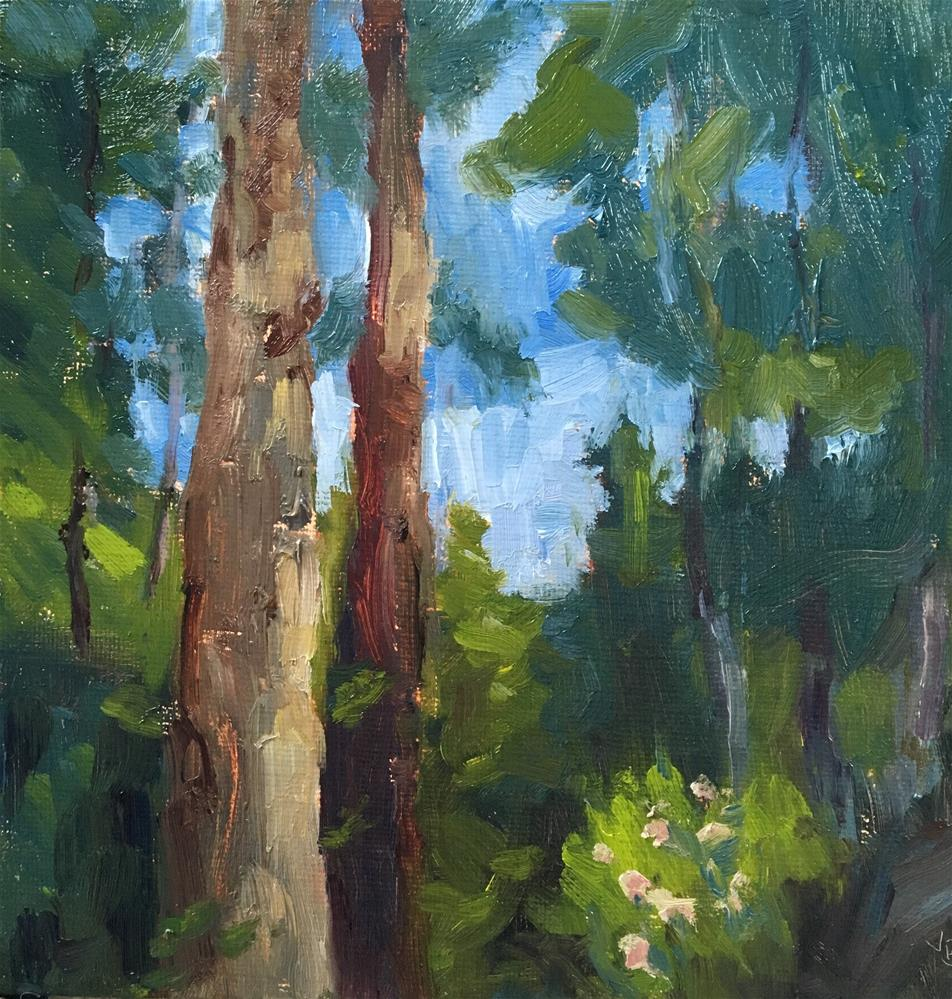 """""""Forest for the Trees"""" original fine art by Victoria  Biedron"""