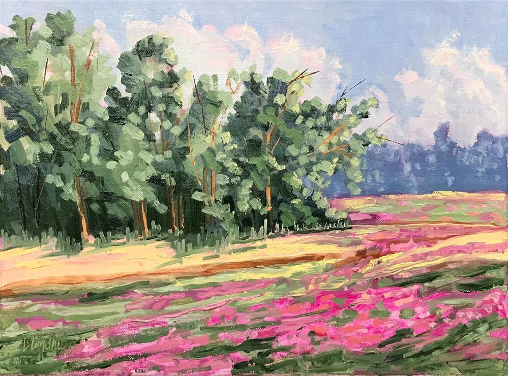 """Rural Spring"" original fine art by Linda Blondheim"