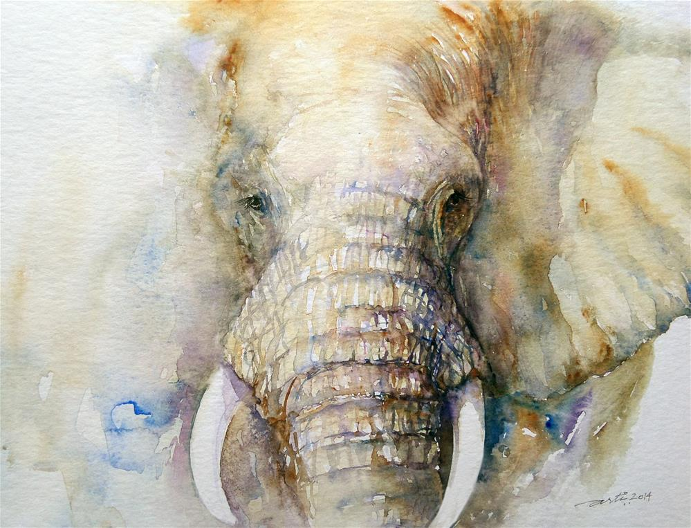 """The Emperor"" original fine art by Arti Chauhan"