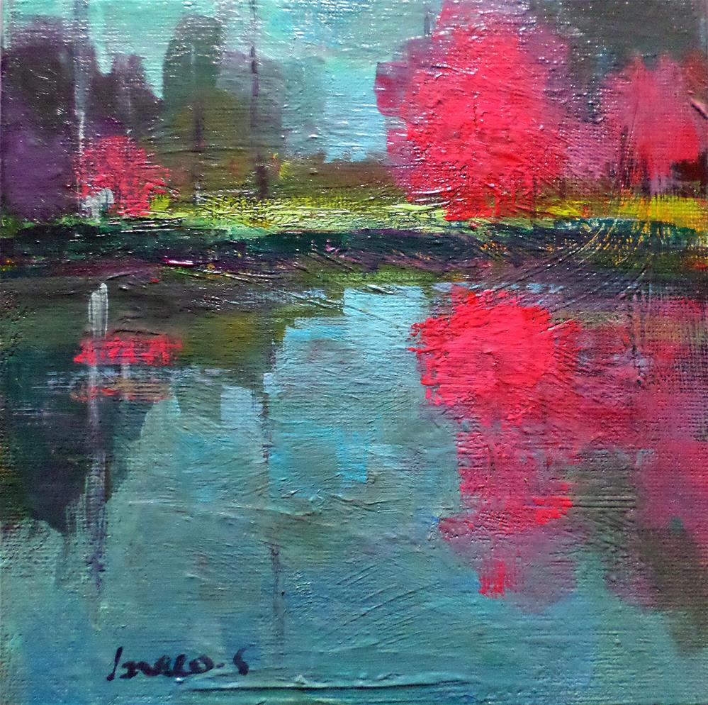 """""""Morning tranquility"""" original fine art by salvatore greco"""