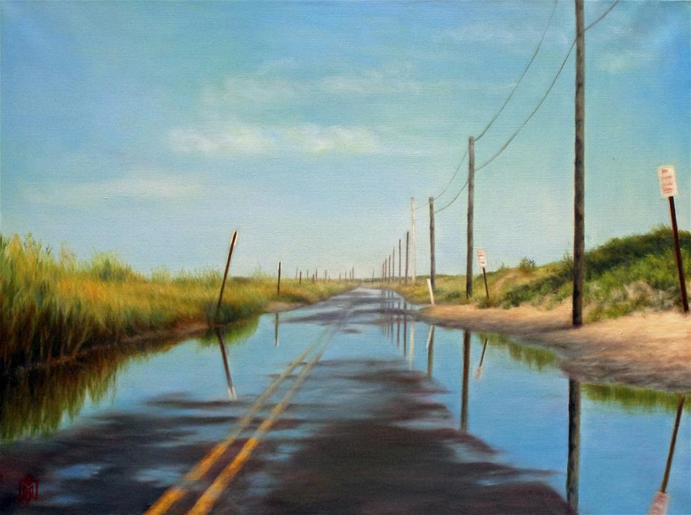 """High Tide"" original fine art by Melissa Imossi"