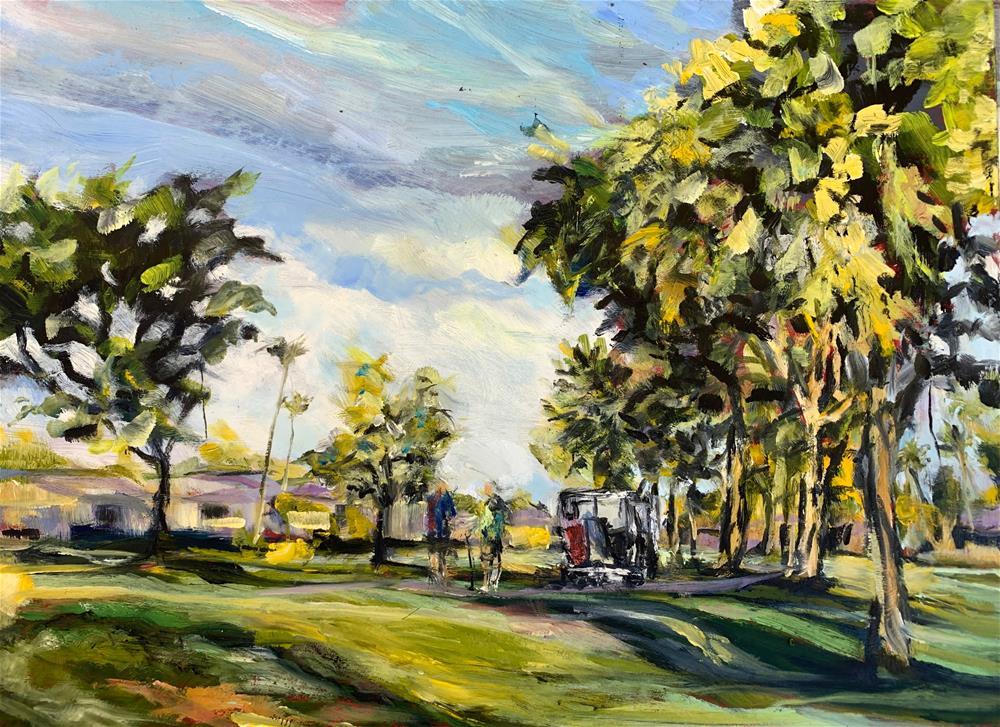 """""""Sun City, AZ"""" original fine art by Jean Krueger"""