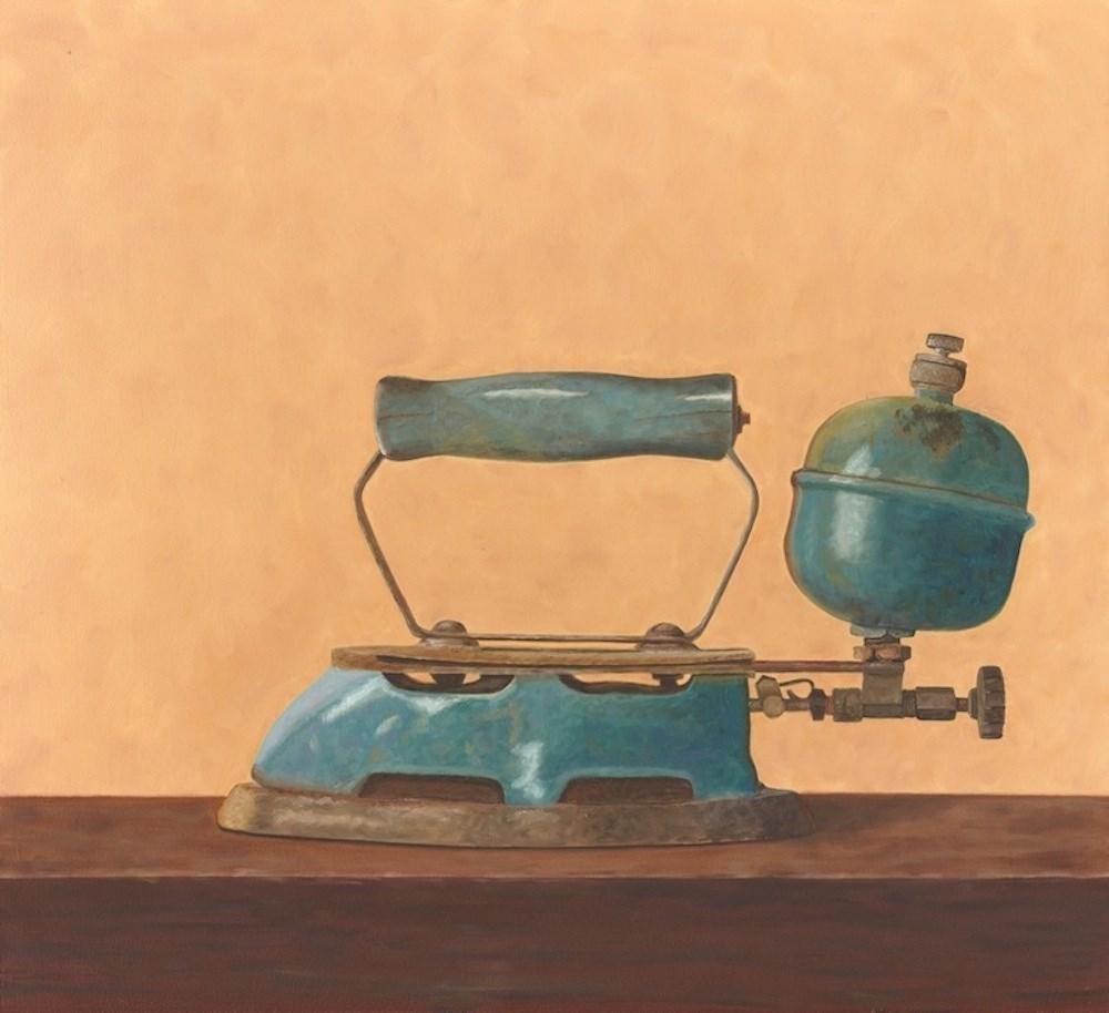 """Fuel Iron"" original fine art by Susan Fern"