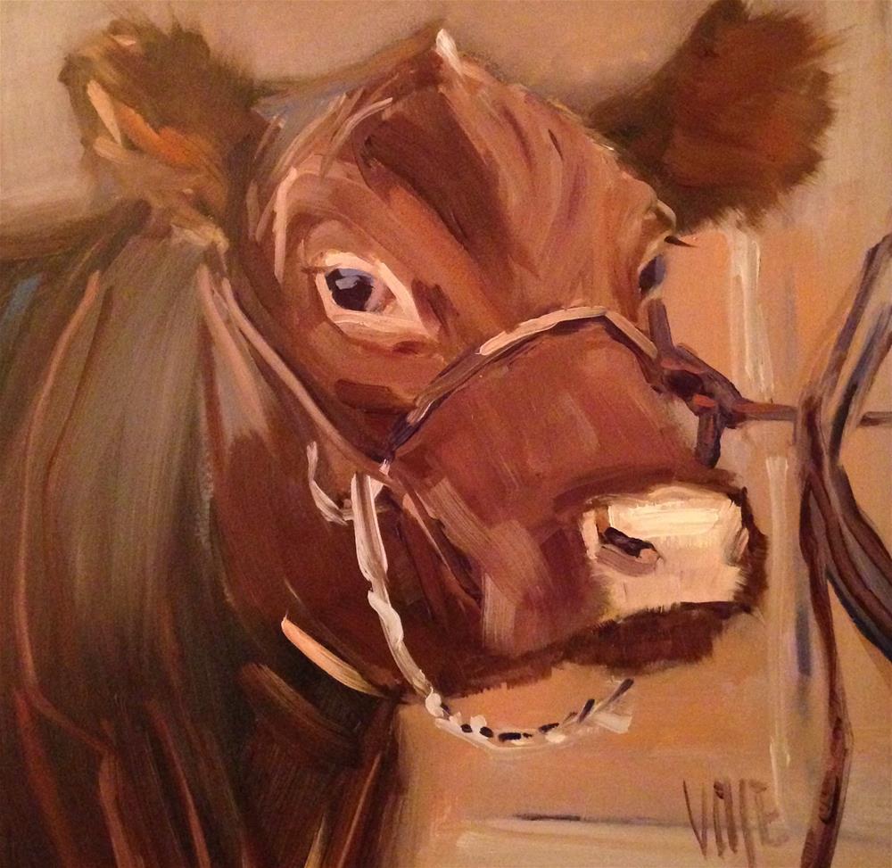 """#154 Show Time"" original fine art by Patty Voje"