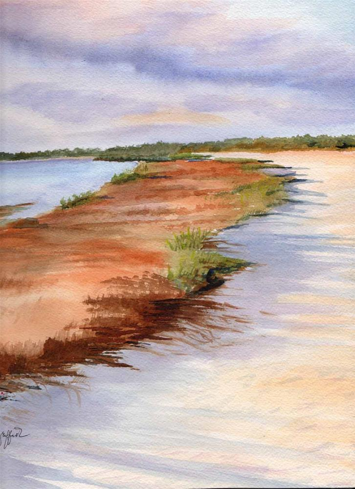 """Florida Seascape #2"" original fine art by Bunny Griffeth"