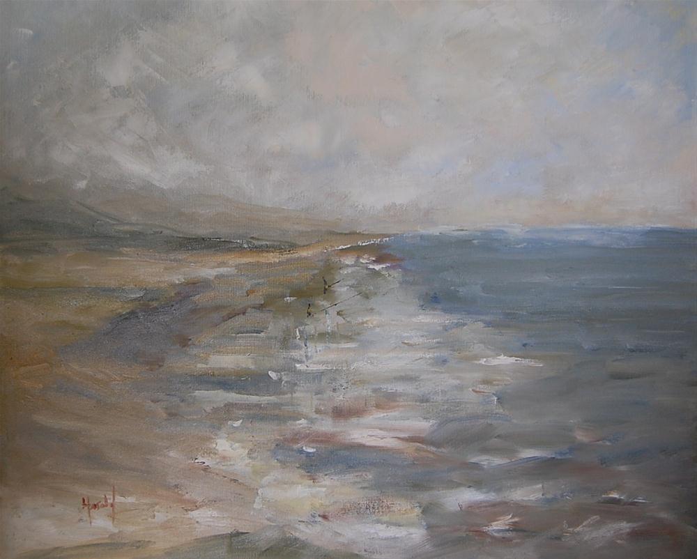 """Winter's Day"" original fine art by Deborah Harold"