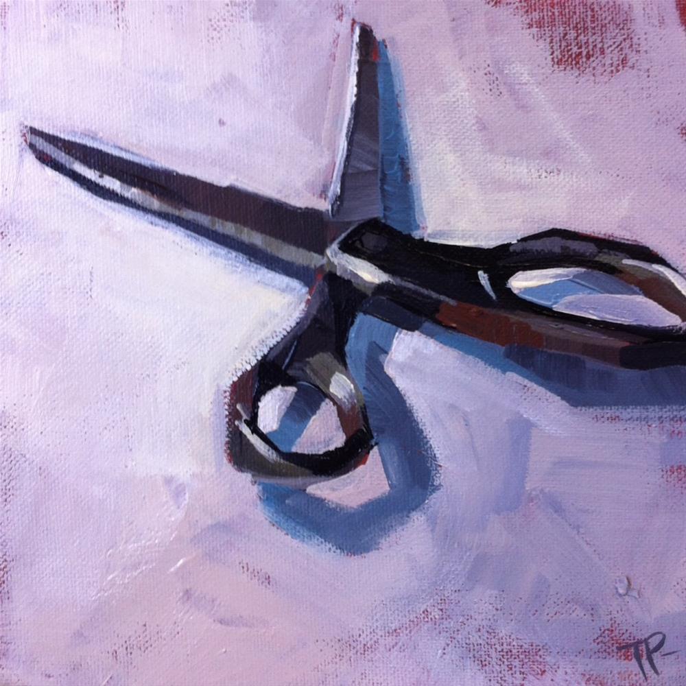 """""""Sharp Challenge"""" original fine art by Teddi Parker"""